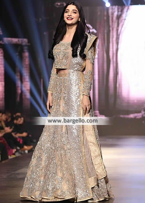 c296b3f771 Elegant Bridal Wear Lehenga for Wedding or Reception Captivate your guests  as you walk down the aisle i