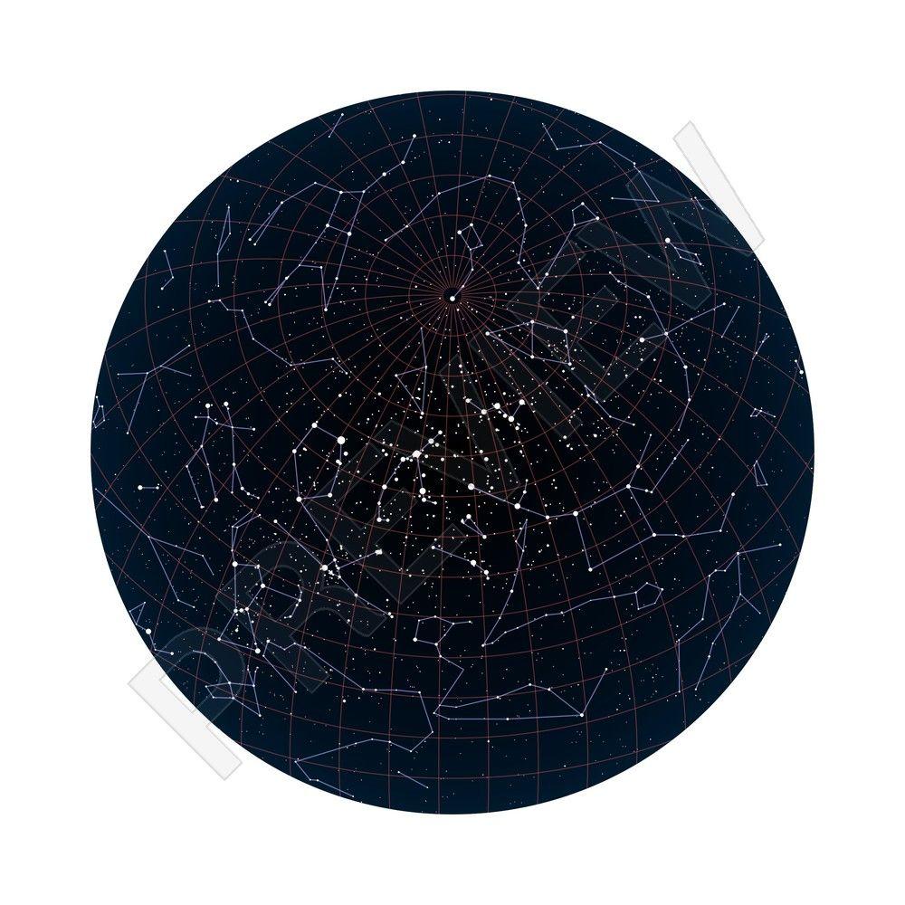 Star Map Posterhaste Nursery 2 Pinterest Nursery Stars And Map