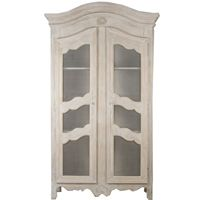 Find A Stunning Selection Of French Amoires And Display Cabinets At Belle  Maison, Including Arched Cabinets With Glass Doors, French Country Armoires  With ...