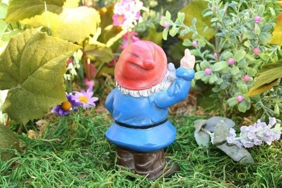 Amazing He Flips You Off From Every Direction Gnome 400 x 300