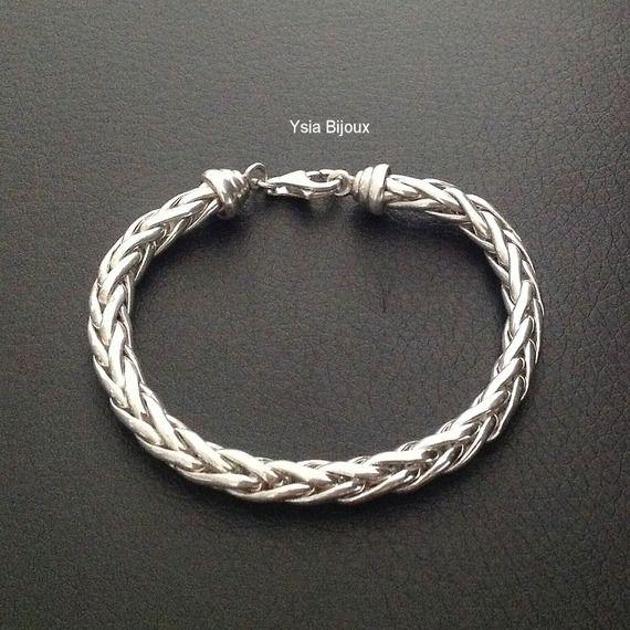 bracelet femme en argent 925 massif