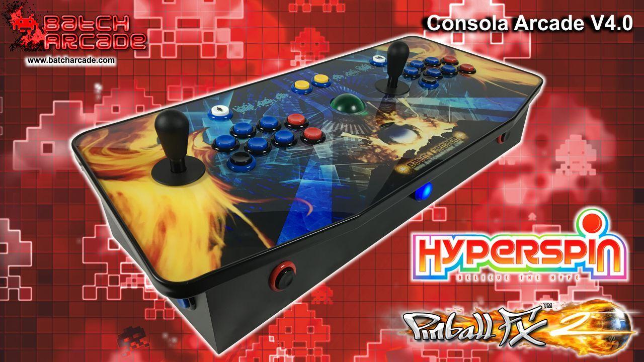 Consola Arcade V4 0 Hyperspin & Pinball FX2 | Gaming & Gadgets