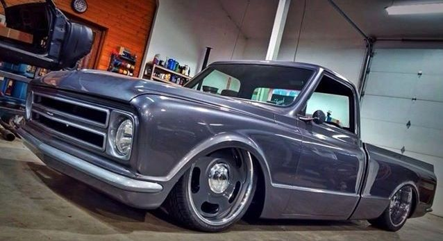 68 C 10 With 22 Quot Original Style Rally Wheels Chevy