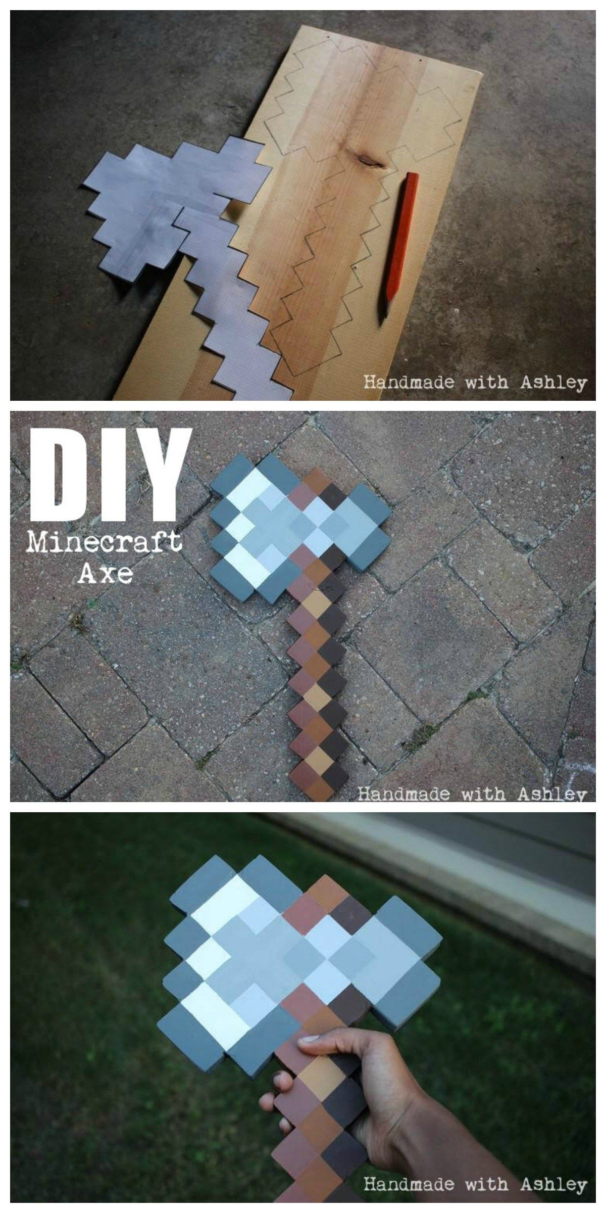 Custom Handmade Minecraft Style Two Single Toggle Light Switch Cover