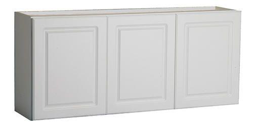 54 White Prefinished Laminate Laundry Wall Cabinet At Menards