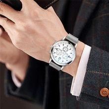 202d8925bf10 Mens Watches Top Brand Luxury Ultra-thin Wrist Watch Men Watch Men s Watch  Clock erkek kol saati reloj hombre heren horloge 4FN(China)