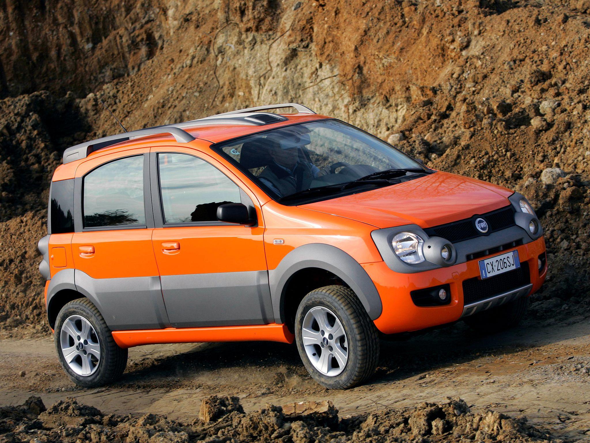 Fiat Panda 4x4 Cross Fiat Panda Fiat Cars Fiat