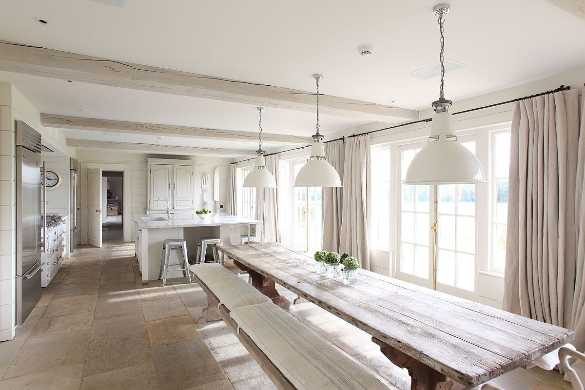 Photo location: Cotswold Barn   Light Locations white kitchen   For ...