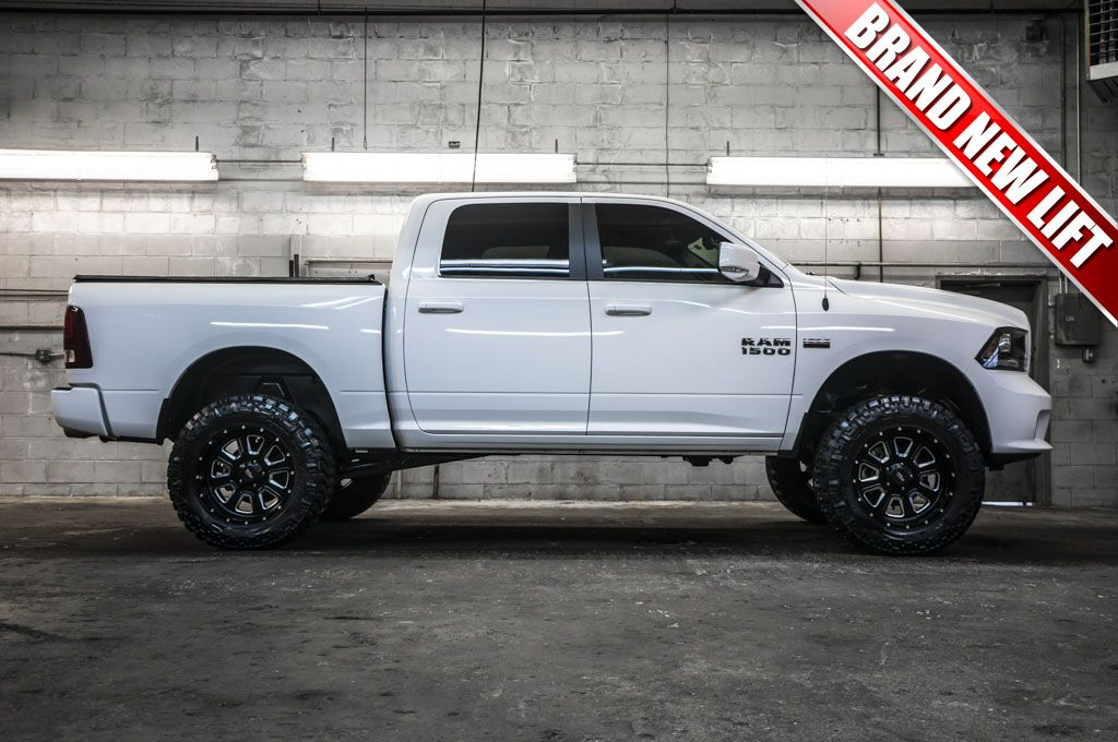 """Cheap Used Lifted Trucks For Sale >> 2014 Dodge Ram 1500 Sport 4x4 truck For Sale with a Brand New 6"""" Fabtech Performance Lift with ..."""