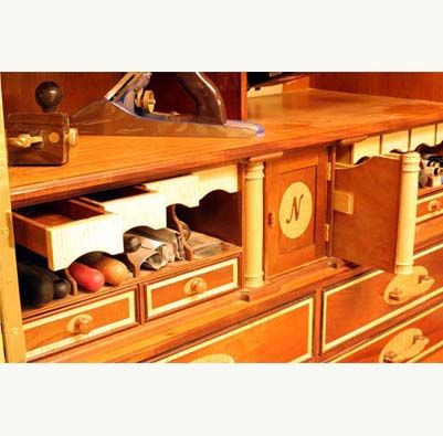 Lonnie Bird Inspired Toolchest | Tool chest, Fine woodworking ...