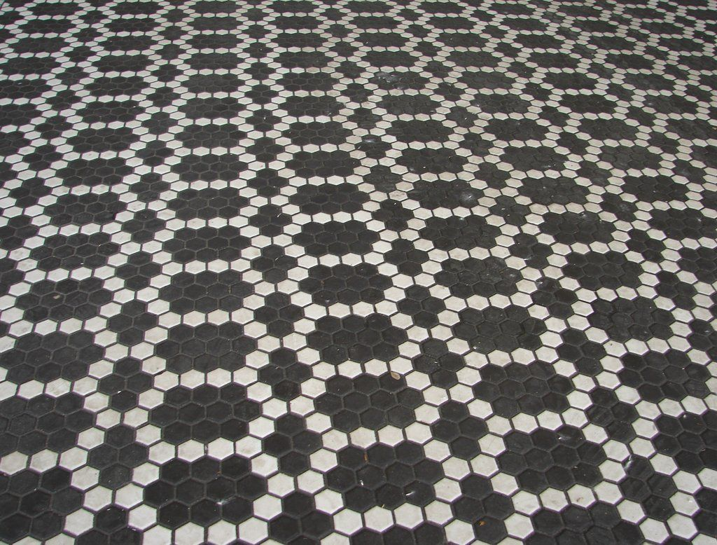 Dark tile floor pattern by fantasystock on deviantart hexagon tile dark tile floor pattern dailygadgetfo Choice Image