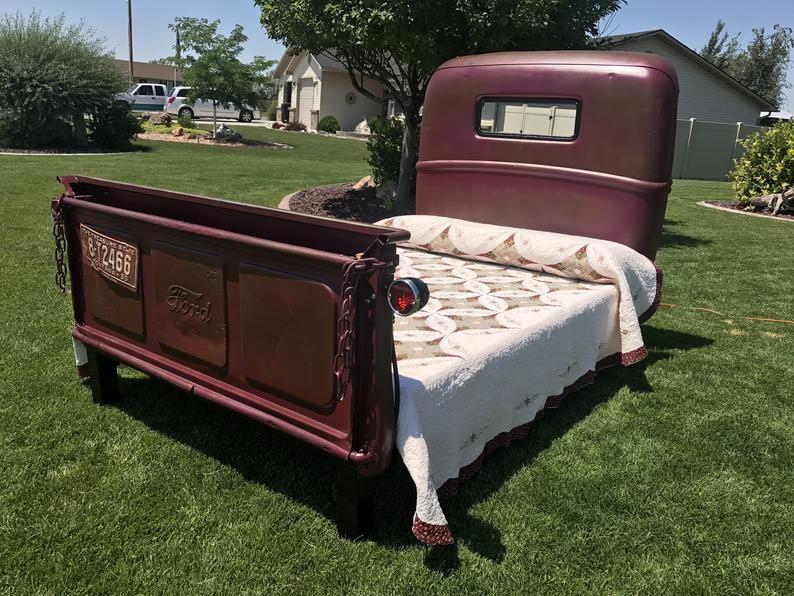 Truck Bed Truck Bedroom Truck Bed Furniture Vintage Bed
