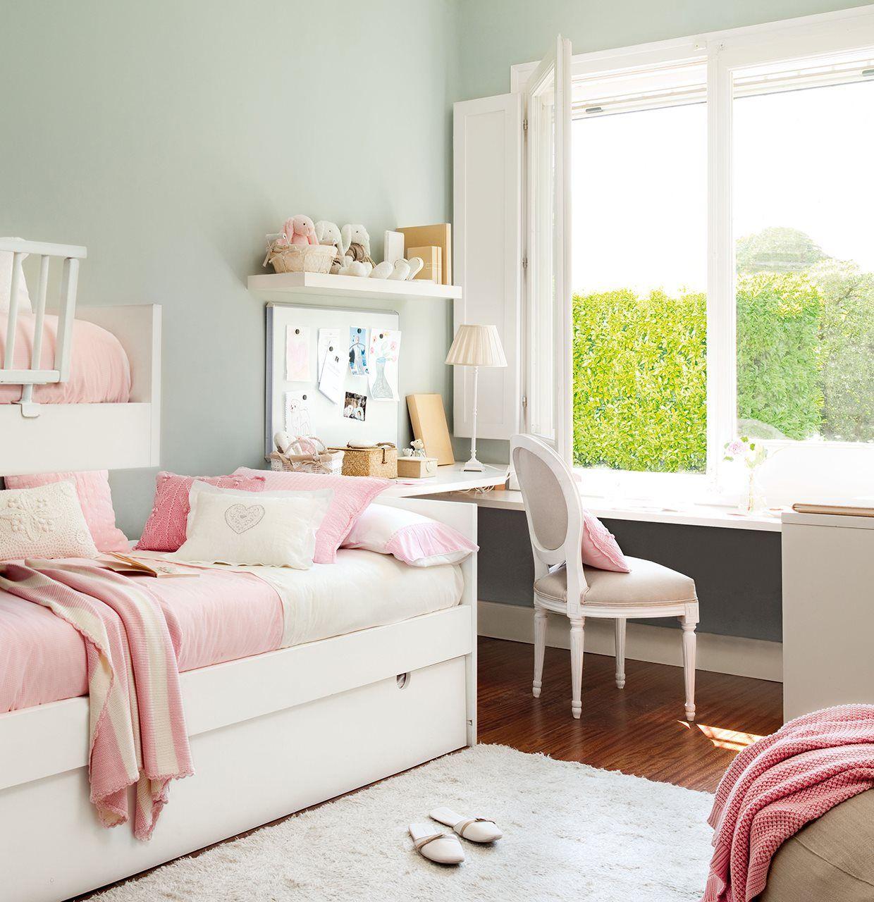 15 ideas para crear una zona de estudio - Los mejores dormitorios juveniles ...