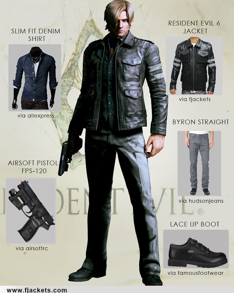 I May Be Cosplaying As Leon Kennedy From Resident Evil 6