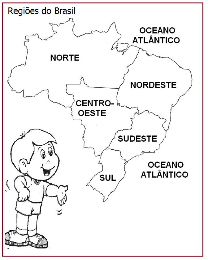 Aparador Wengue Y Plata ~ Regiões do Brasil Rérida Maria Educaç u00e3o Pinterest Atividades, Escola e Educaç u00e3o