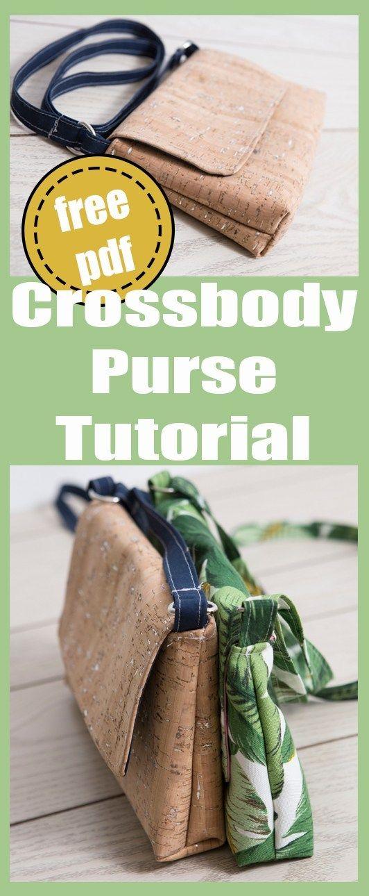 Crossbody Purse #bagpatterns