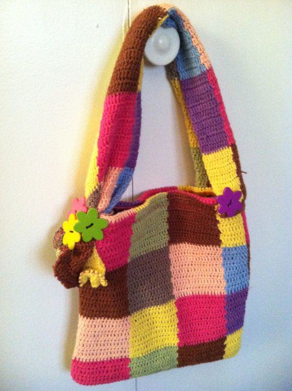 Small Size Bold Color Block Purse....made by MyMothersReflection, $25.00