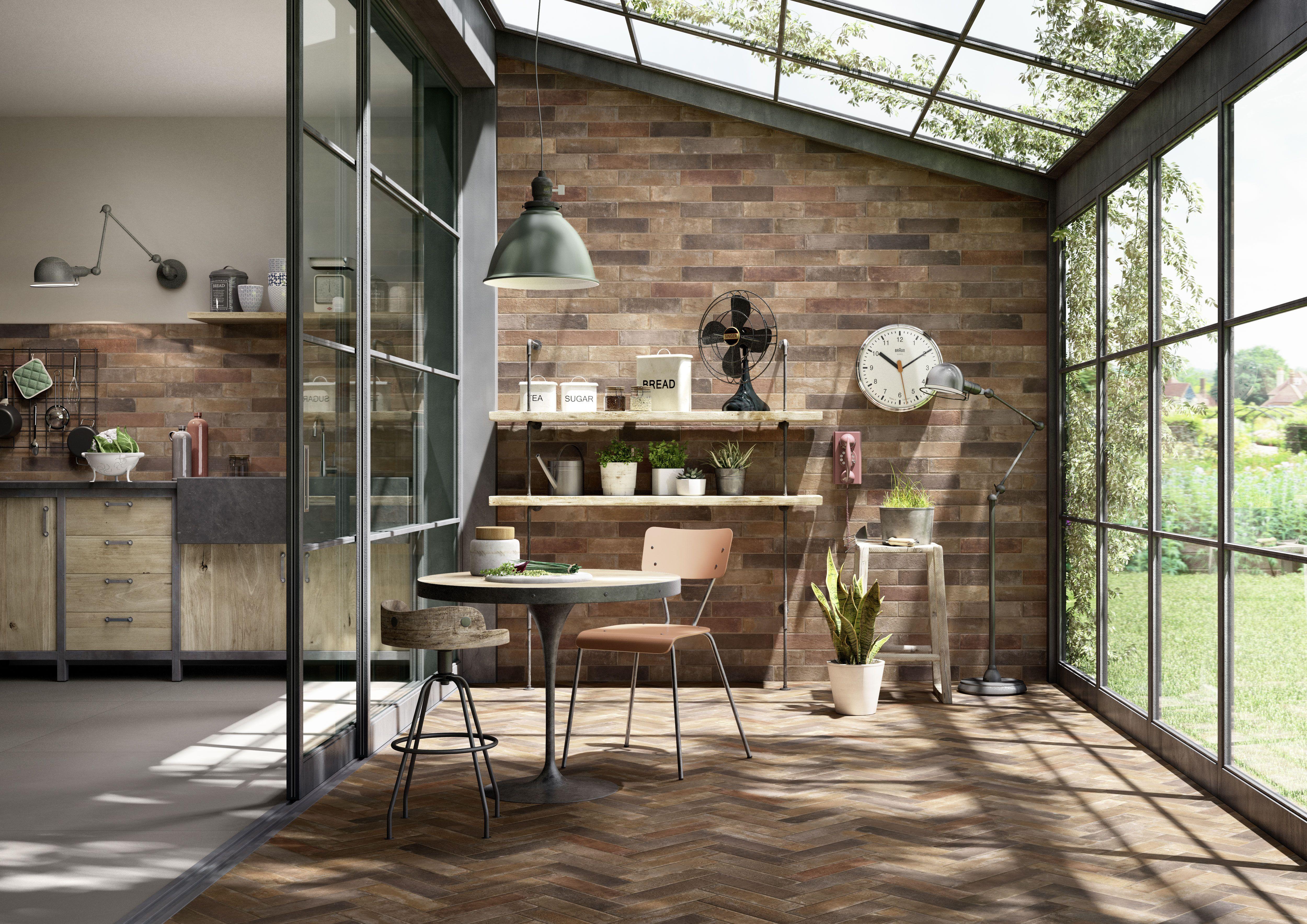 Terramix - Brick effect porcelain stoneware | Marazzi | Ceramica ...