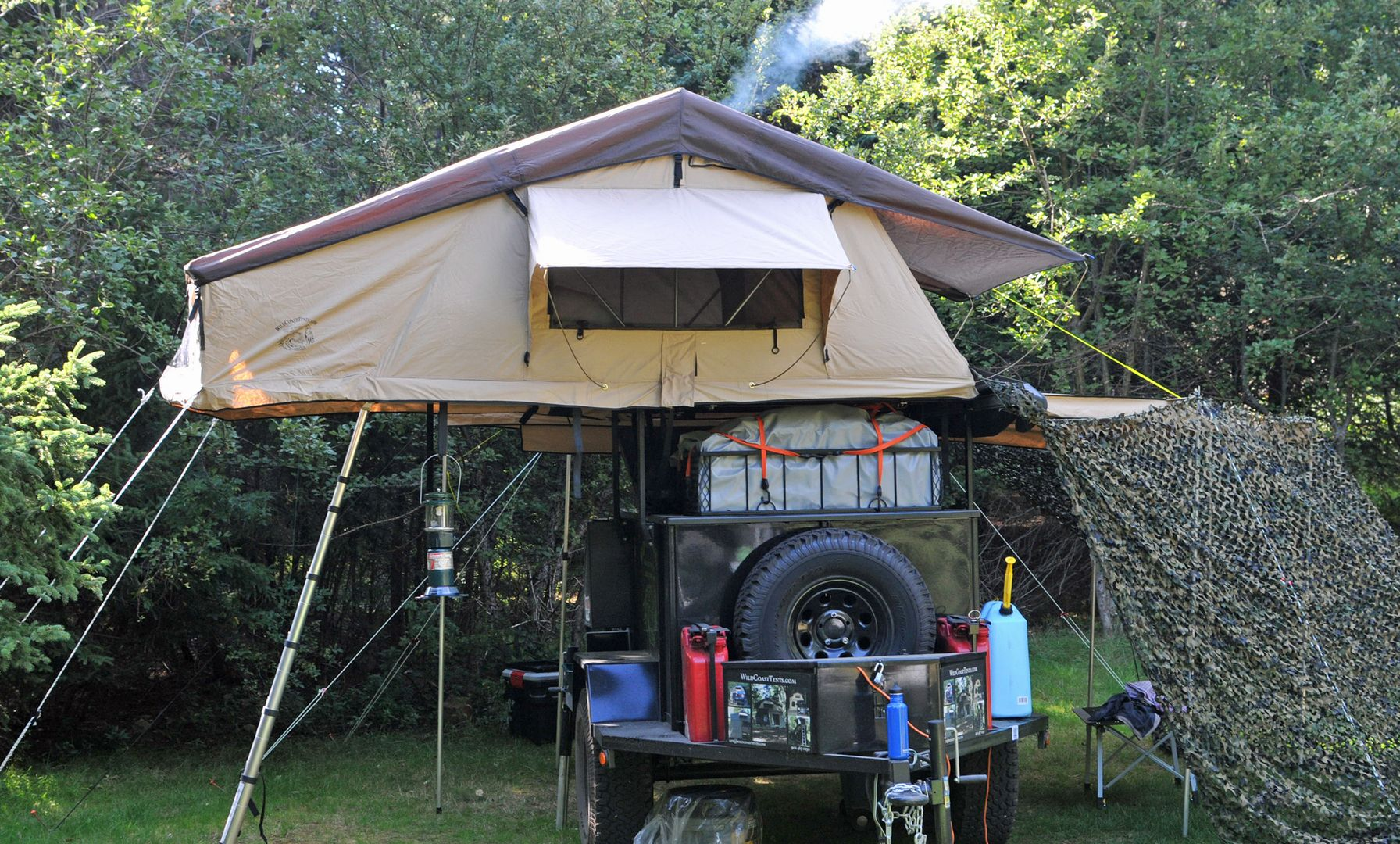 Outpost Roof Top Tent One of our biggest roof top tents Perfect for a family c&ing. Comes with Annex room for additional space for storage change rooom & Outpost Roof Top Tent One of our biggest roof top tents Perfect ...