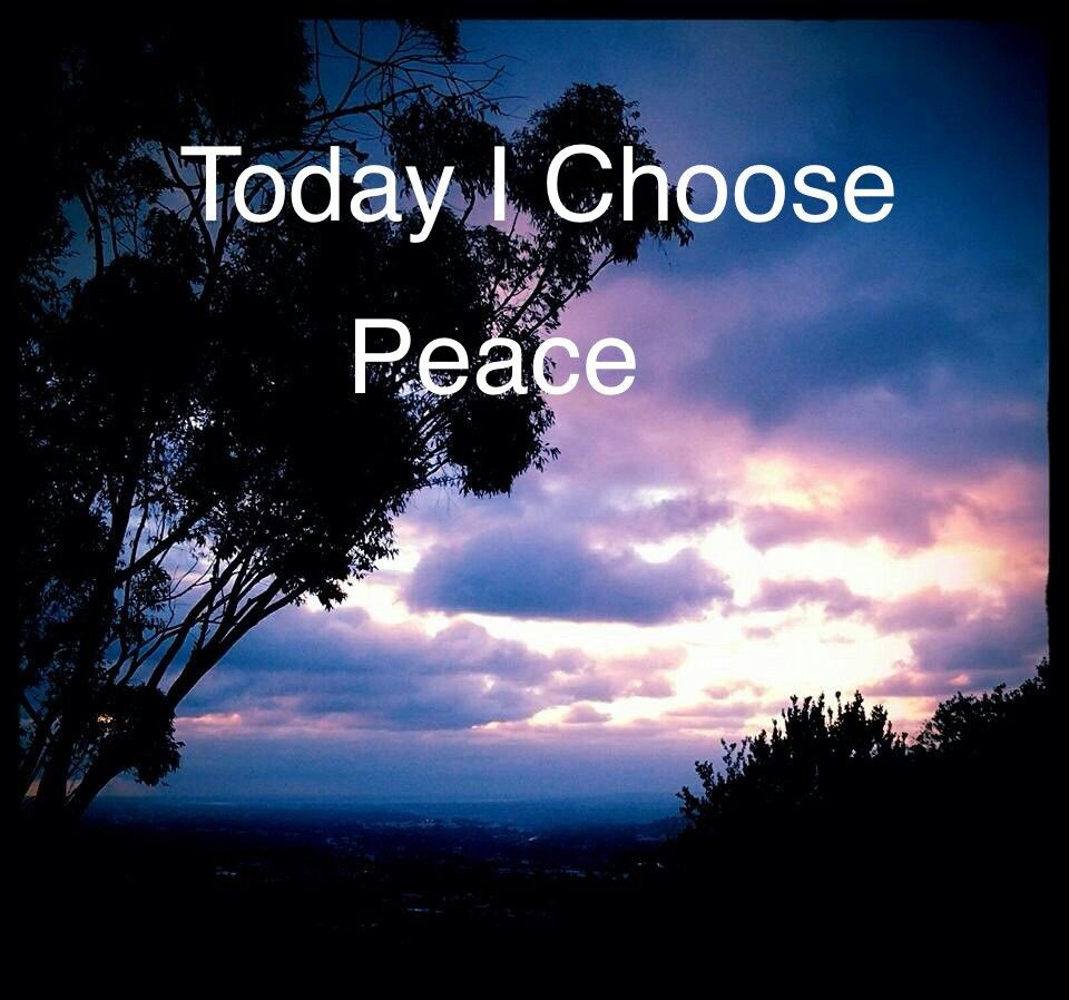 Today I choose peace!  Happy hippie quotes, Quotes inspirational