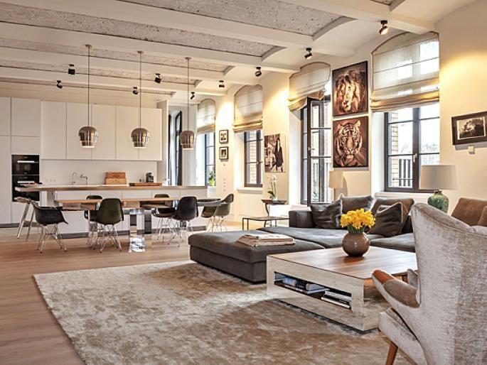 Wohn- und Essbereich Kunst Pinterest Berlin, Modern and Classic - wohn essbereich ikea
