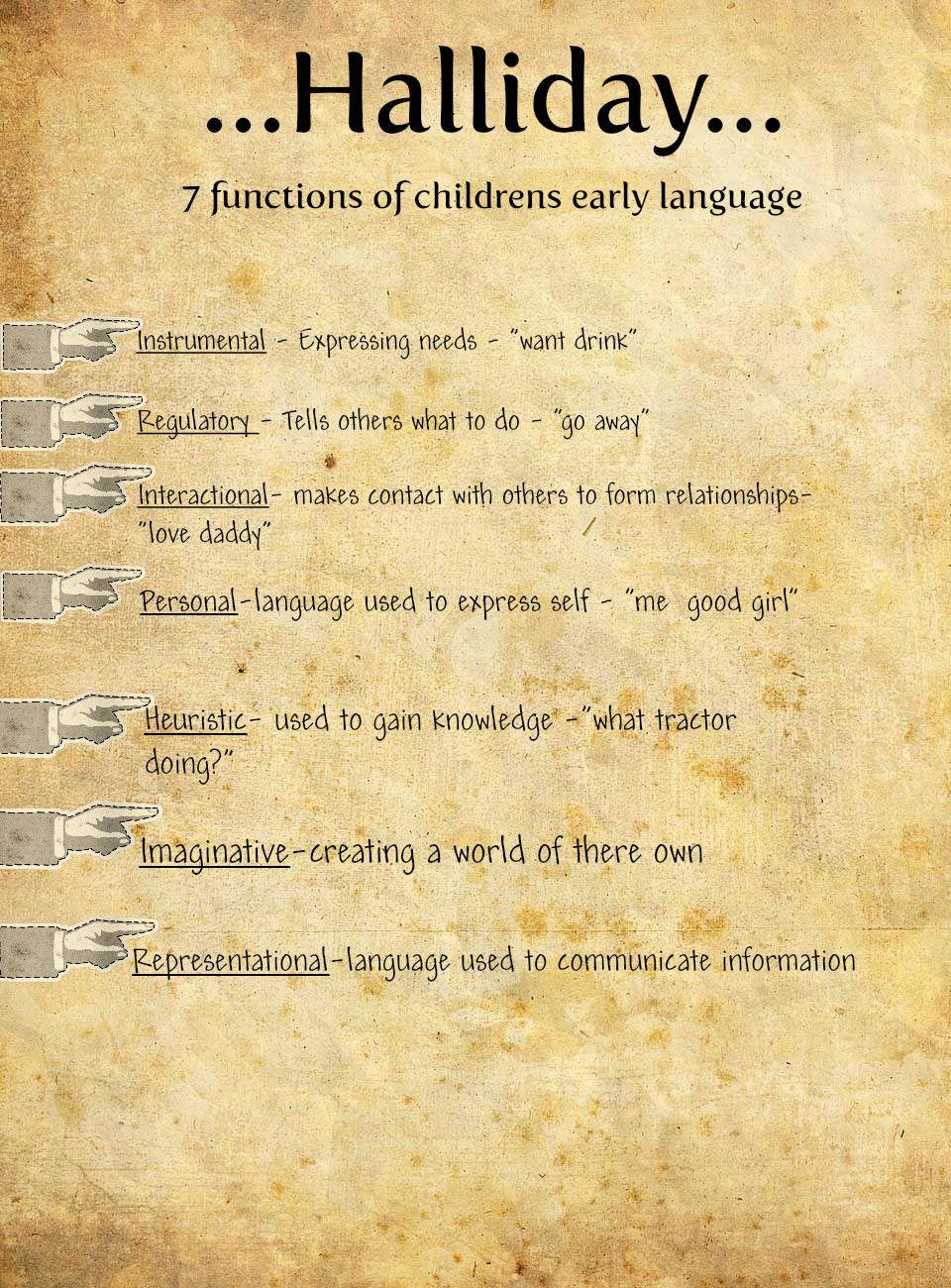 characteristics functions of language development tet success characteristics functions of language development tet success key
