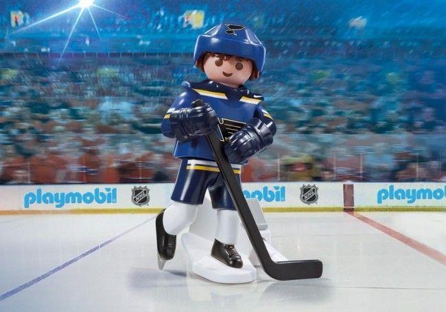 Playmobil Hockey LNH:Joueur des St Louis Player - Castello   Jeux et Jouets
