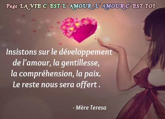 Insistons Sur Le Développement De L Amour La Gentillesse