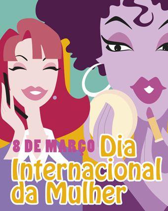 Feliz dia das mulheres !Desejamos que o seu dia seja único e especial assim como você é!
