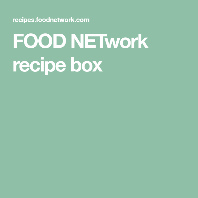 Food network recipe box fud pinterest forumfinder Image collections