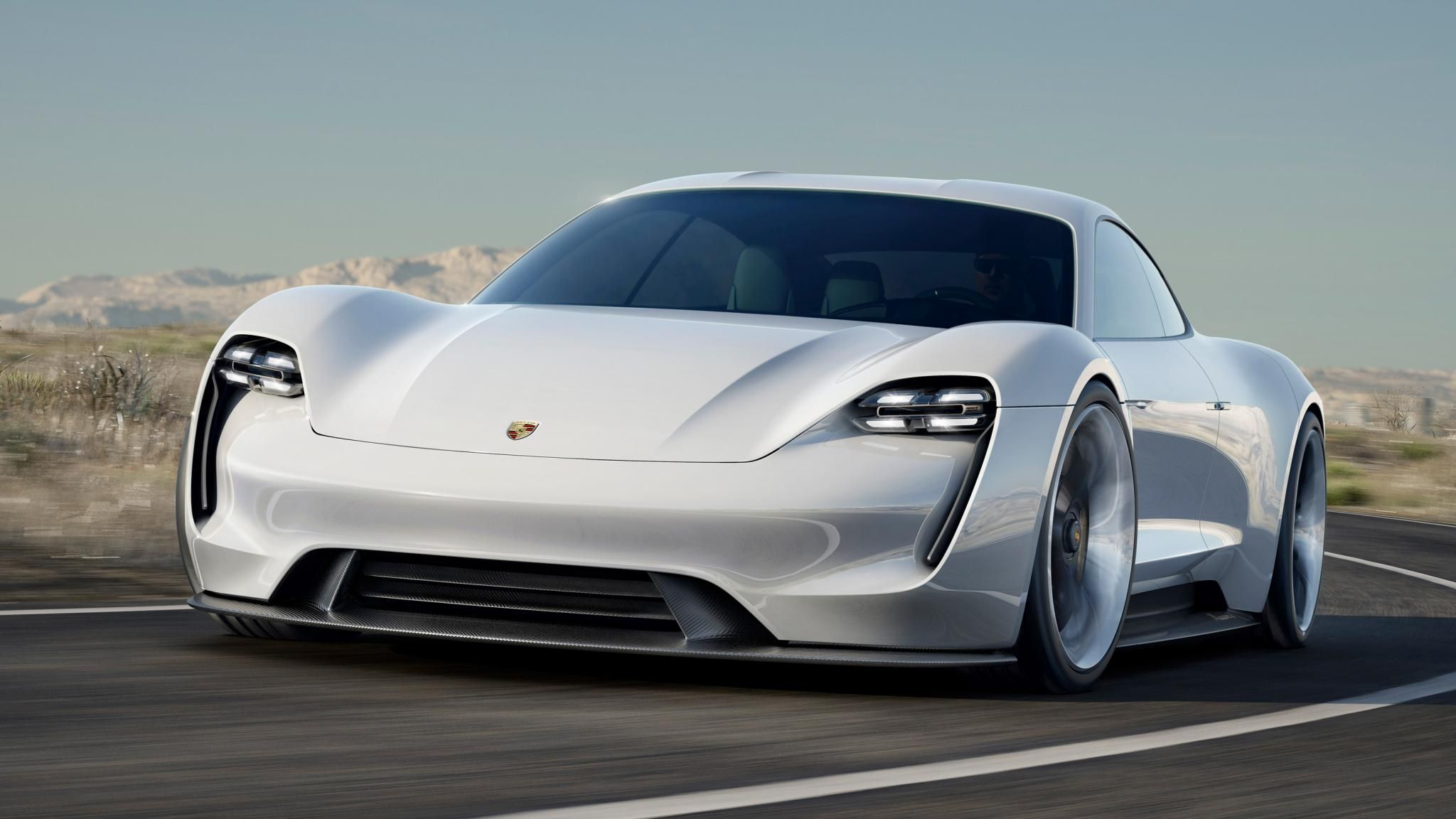 This is the Mission E, Porsche's 600bhp, all-electric sports car of 2018 | Top Gear