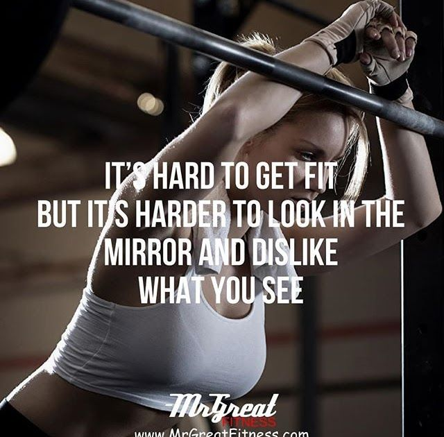 Its hard to get fit but its harder to look at the mirror and dislike what you see. #QuotesPorn #quote #quotes #leadership #inspiration #life #love #motivation #quoteoftheday #success #wisdom #image