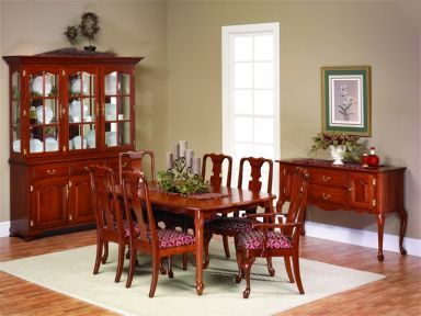 Queen Anne Style Furniture  Queen Anne Dining Room Set Captivating Queen Anne Dining Room Set Decorating Design