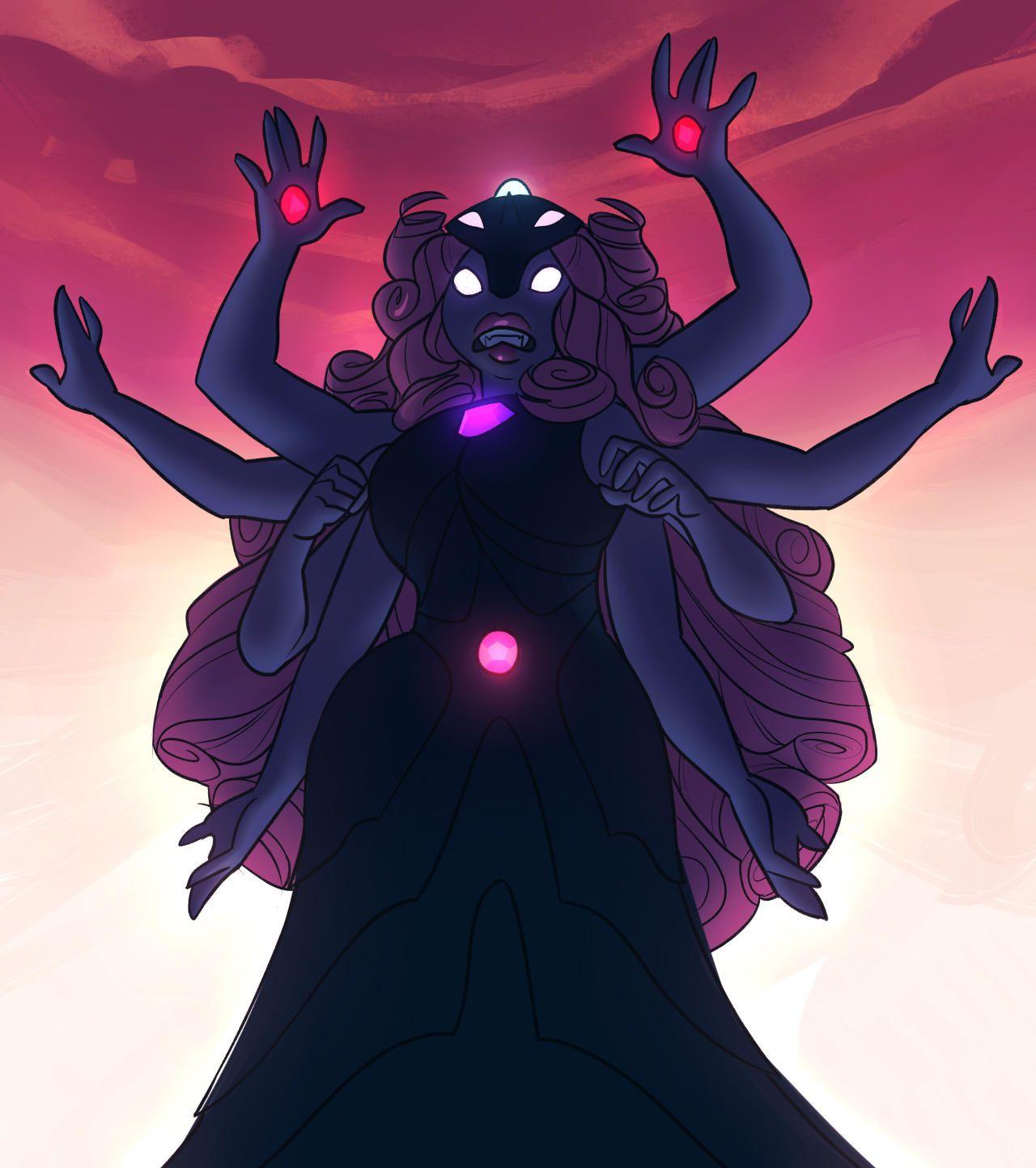 FEAR THE FUSION GODDESS!!! Steven universe fusion