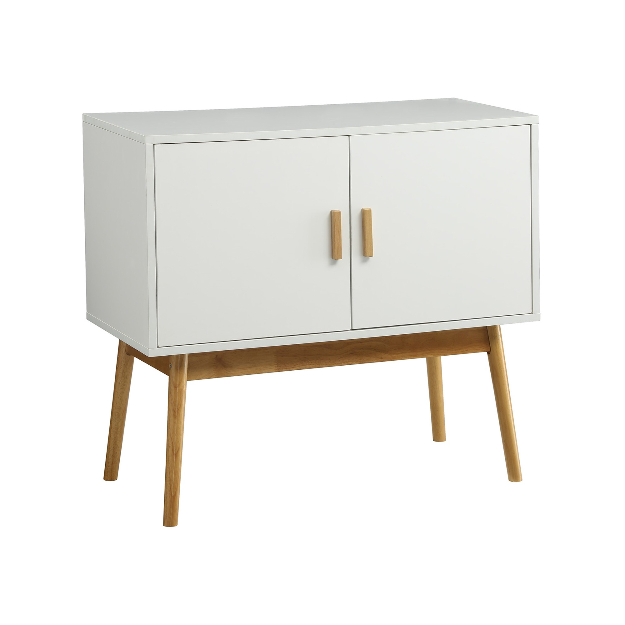 Küche Oslo Oslo Storage Console White Medium Convenience Concepts Products