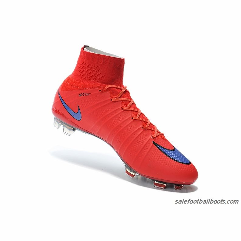 Nike Mercurial Superfly FG Red Blue $107.99