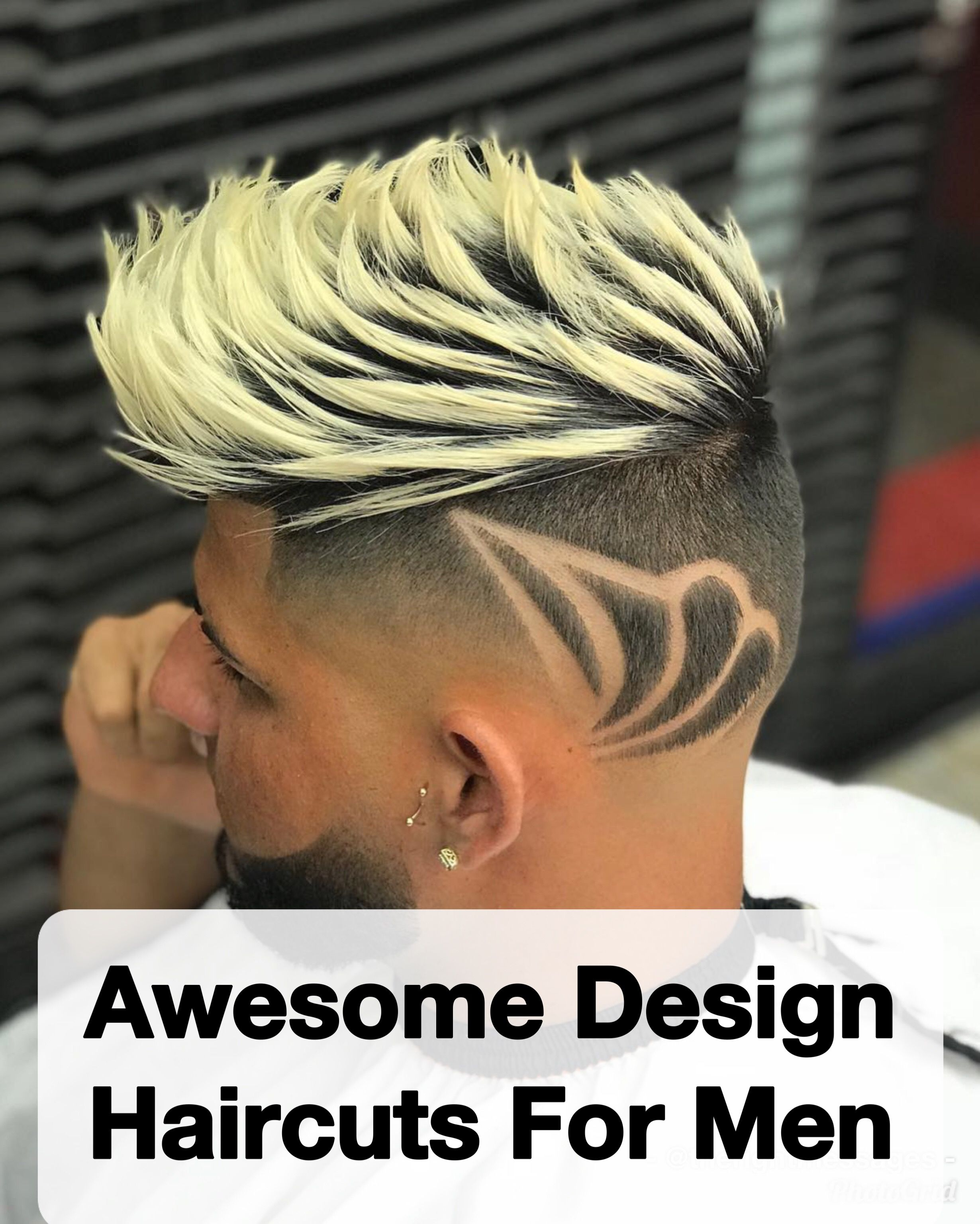 awesome design haircuts