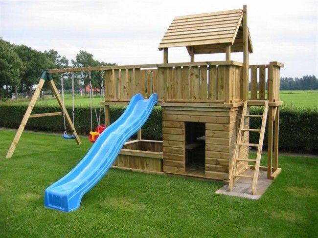 Spielturm Balkon Mit Sandkasten Spielturm Garten Spielturm Kinderspielturm Garten