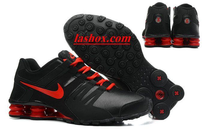 nike shox rouge et noir