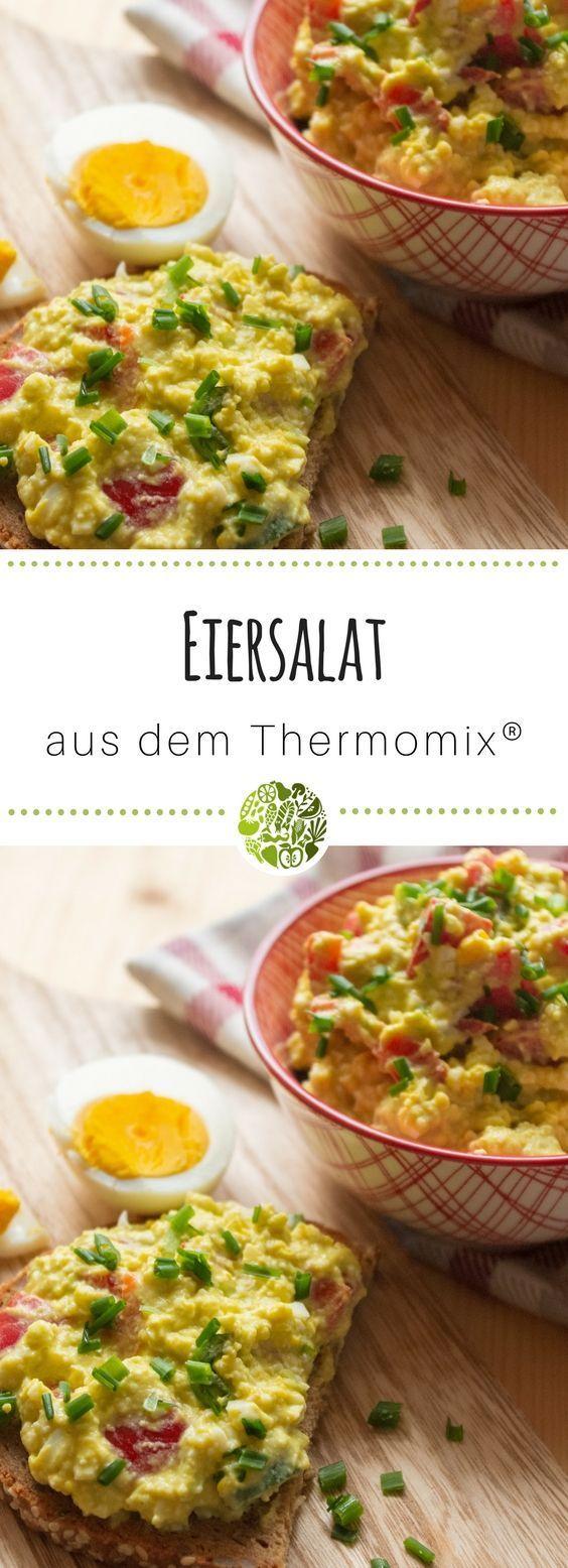 Gesunder Eiersalat aus dem Thermomix® #cookiesalad