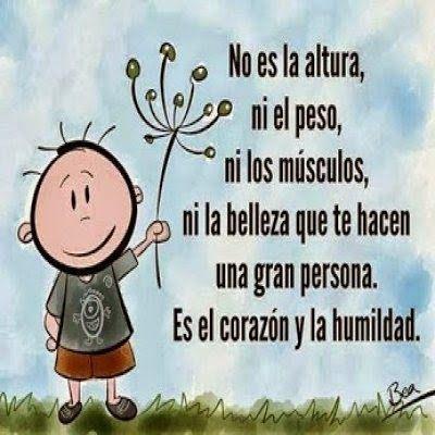 Frases Bonitas Para Facebook Imagenes Con Frases Sobre La Humildad Y El Corazon Frases Sobre La Humildad Frases De Agradecimiento Frases