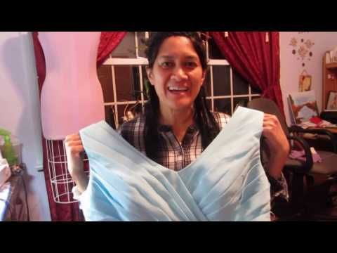 Sewing Basics 2 How To Take In A Lined Shoulderstrap Of A