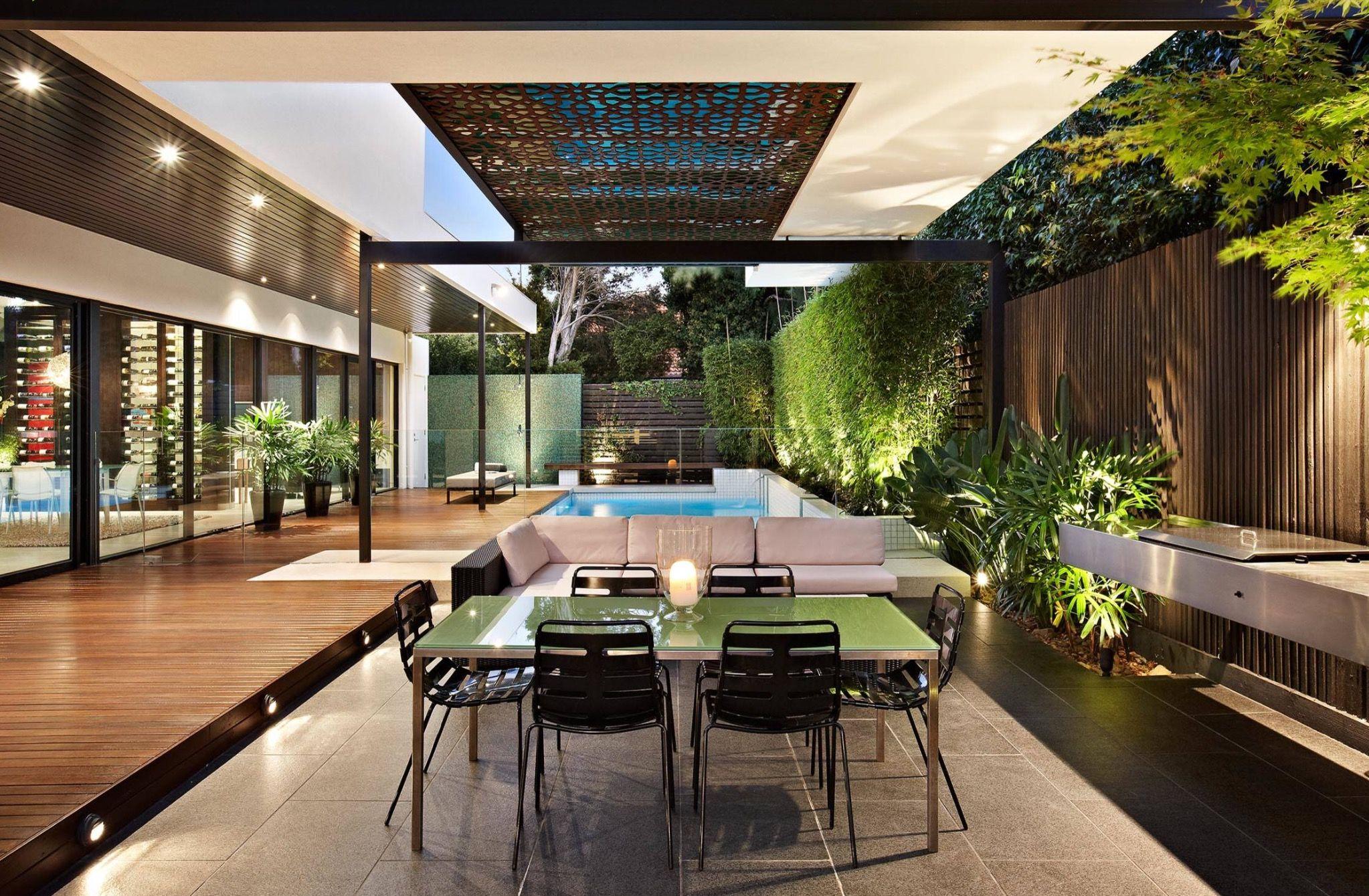 Houzz Urban Angles Balaclava Gardens Patios