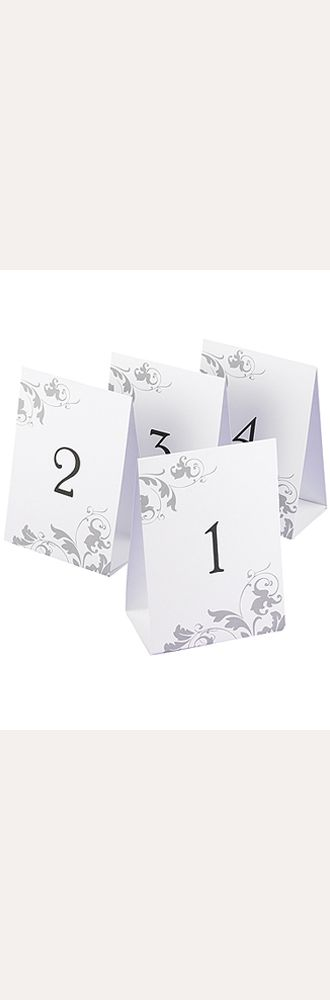 Table Number Tents Set of 40