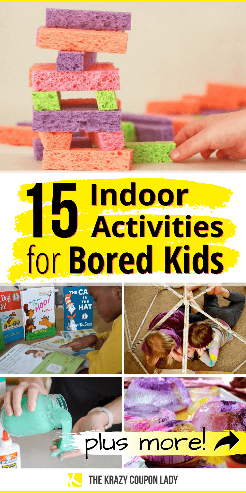 Photo of 15 Indoor Activities for Bored Kids