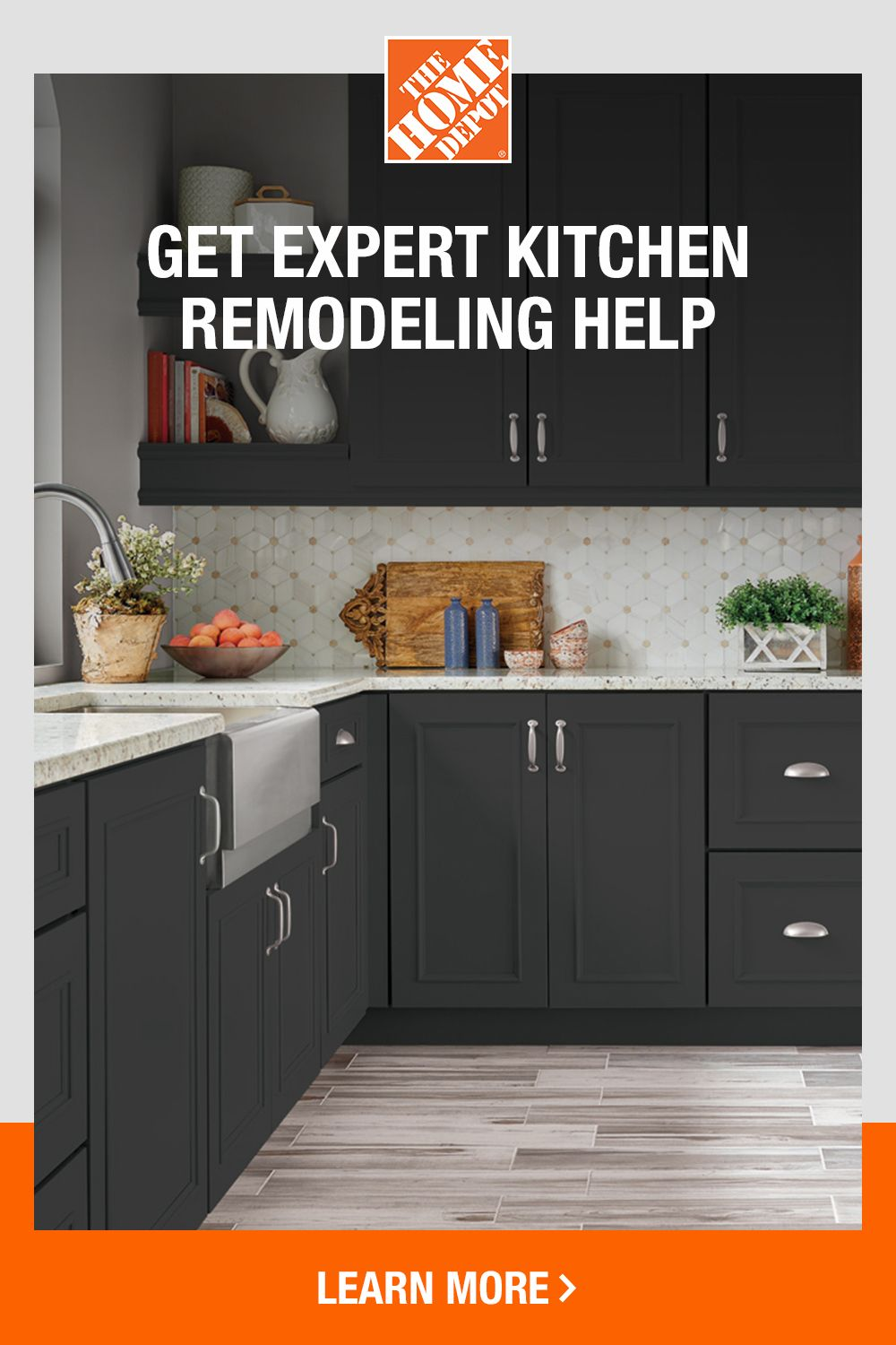 Create A Kitchen That S Guaranteed To Last With Home Services At The Home Depot Kitchen Remodel Home Kitchen Projects Home depot kitchen remodels