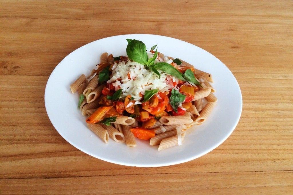 recept pasta rode saus