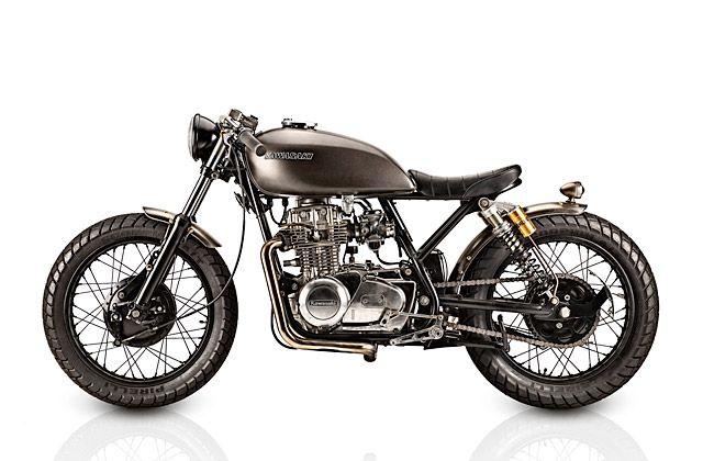 76 Kawasaki KZ400 - Tattoo Custom Motorcycles   Custom motorcycles