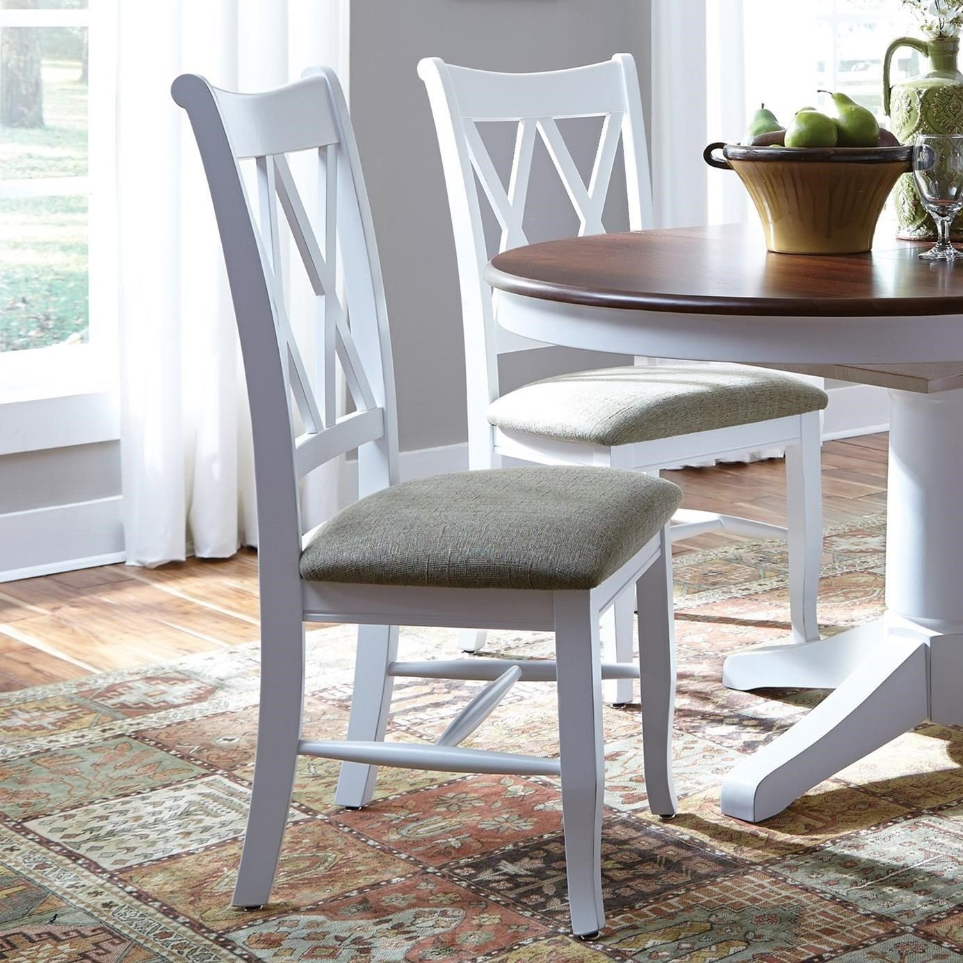 Select Dining Double X Back Chair By John Thomas Furniture