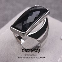 Hot #Fashion Rings Black Onyx Size 7/8/9 #Anniversary #Rings For Unisex http://www.aliexpress.com/store/633939